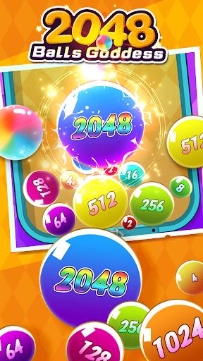 2048 Balls Goddess apkpoly screenshots 1