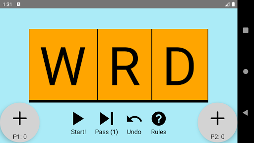 word attack! - two player screenshot 1