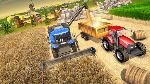 Farmland Tractor Farming - New Tractor Games 2021  screenshots 2