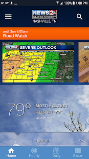 WKRN Weather Authority 5.3.703 Screenshots 1