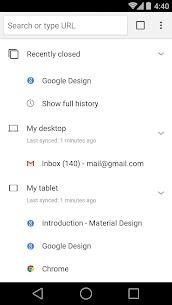 Chrome Dev 4
