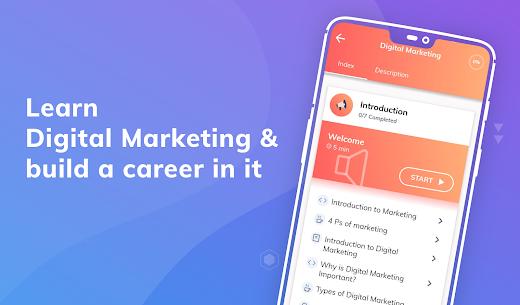 Learn Digital Marketing & Online Marketing (MOD APK, Pro) v1.2.8 3