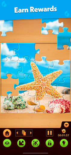 Jigsaw Puzzle: Create Pictures with Wood Pieces Apkfinish screenshots 12