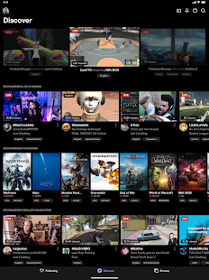 Twitch: Livestream Multiplayer Games & Esports Screenshot