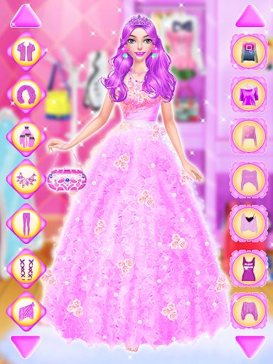 👸 Pink Princess 👗 Dress Up : Games For Girls  screenshots 2