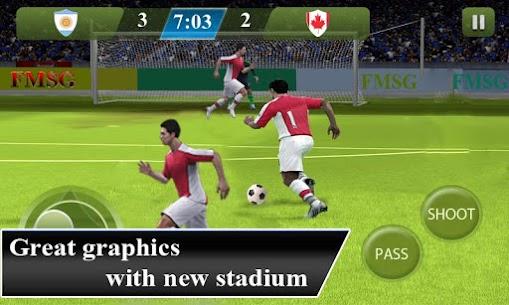 Football Kings 2015 1.10 Unlocked MOD APK Android 2