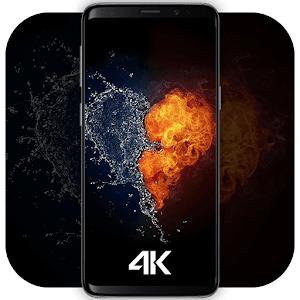 4K Wallpaper HD Backgrounds 2.6 by ideaX Inc. logo