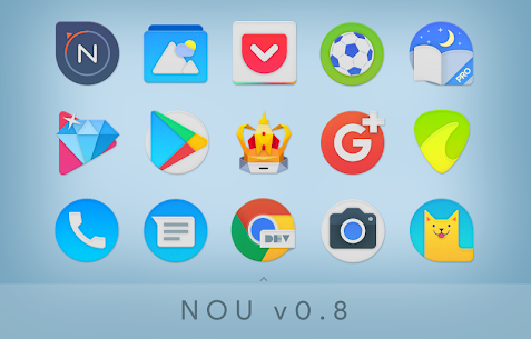 NOU – Ultimate Material Icon Pack Patched APK 4
