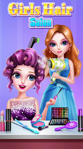 ud83dudc87ud83dudc87Girls Hair Salon 3.0.5038 screenshots 2