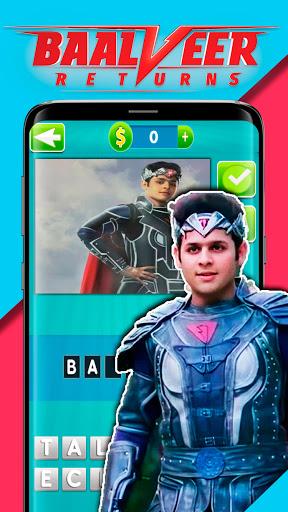 BaalVeer Returns Game Quiz Guess The Character  Screenshots 1