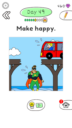 Draw Happy Hero 0.0.4 screenshots 1