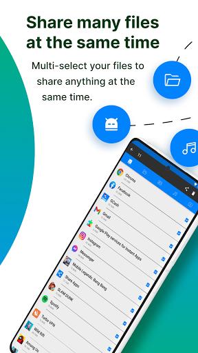 Share Apps - APK Transfer, App Sharing & Backup  Screenshots 2