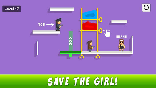 Pin pull puzzle games - Save the girl free games 1.10 screenshots 5
