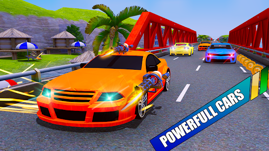 Car Shooting Battle Crash 2019 Hack Cheats (iOS & Android) 4