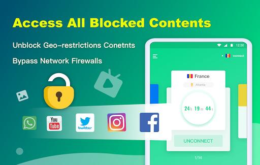 NetCapsule VPN | Free VPN Proxy, Fast VPN, Unblock 1.1.300 Screenshots 8