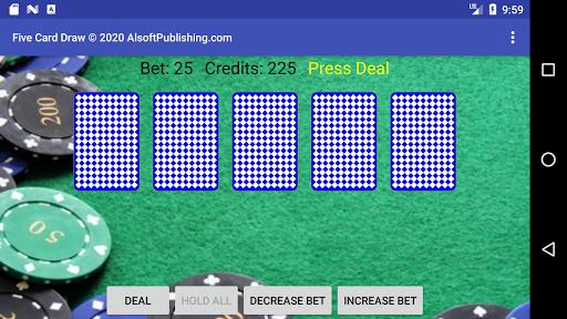 Five Card Draw Poker https screenshots 1