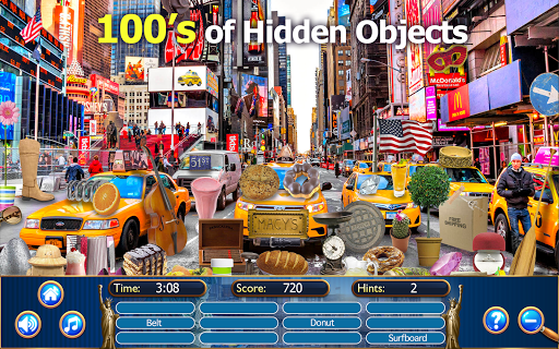 Hidden Objects New York City Puzzle Object Game  screenshots 2