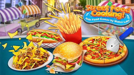 Street Food Stand Cooking Game for Girls  screenshots 1