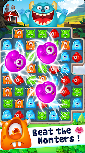 Monster Buster: Free Match 3 Games