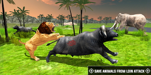 Code Triche Wild Life Hunter-African lion Safari Shooting APK MOD (Astuce) screenshots 1