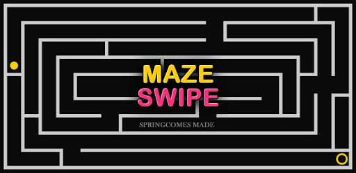 Screenshot of Maze Swipe