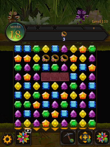 Secret Jungle Pop : Match 3 Jewels Puzzle Apkfinish screenshots 23