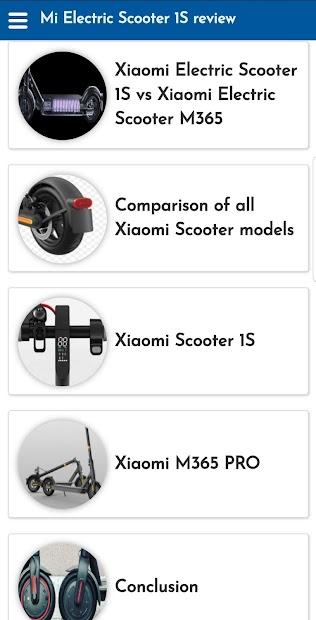 Captura 4 de Mi Electric Scooter 1S review para android