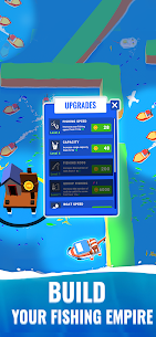 Fish Idle Hooked Tycoon Mod Apk , Fish Idle Mod Apk Unlimited Money And Gems 4