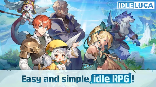 IDLE LUCA Mod Apk (ONE HIT to Kill) Download 8