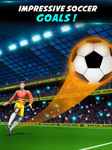 Soccer Kicks Strike: Mini Flick Football Games 3D screenshots 12