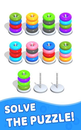Color Hoop Stack - Sort Puzzle 1.1.2 screenshots 11
