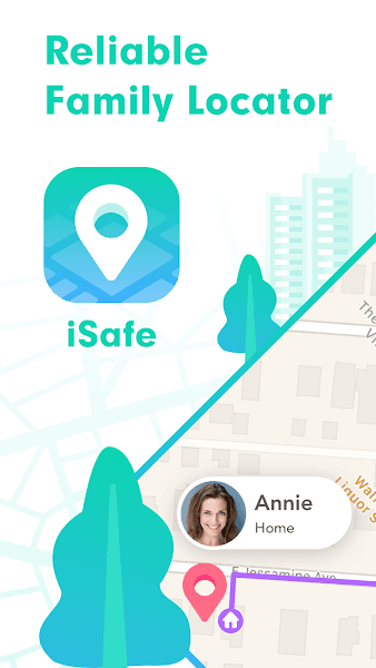 iSafe: GPS Location Tracker & Parental Control App