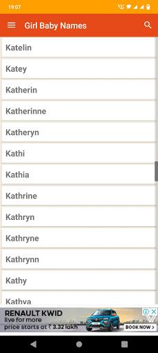 Christian Baby Names & Meaning apktram screenshots 5