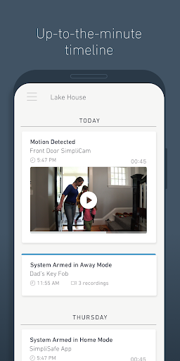 SimpliSafe Home Security App modavailable screenshots 5
