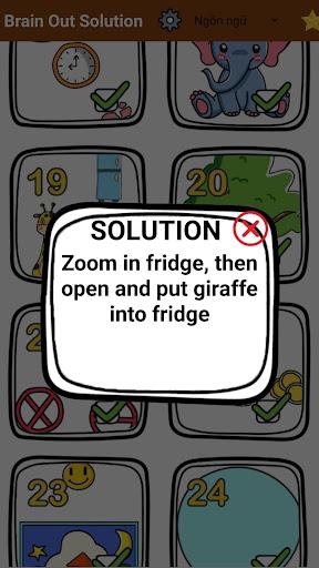Brain Out Solution 3.5 screenshots 3