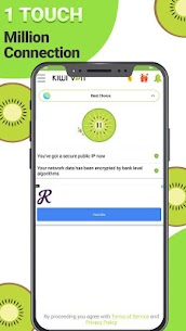 Kiwi VPN Connection For IP Changer Mod Apk (Unlimited Coin/No Ads) 4
