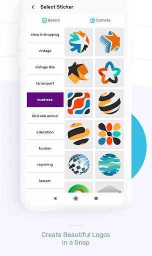 Logo Maker : Graphic Design And Logo Templates android2mod screenshots 4