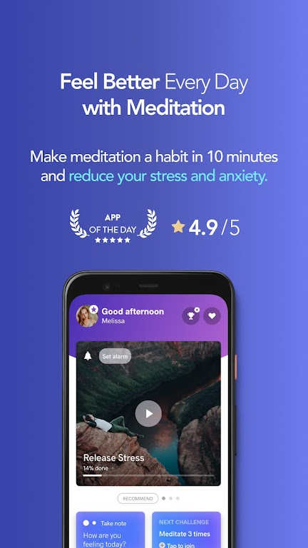 Meditopia: Sleep, Meditation, Breathing poster 1