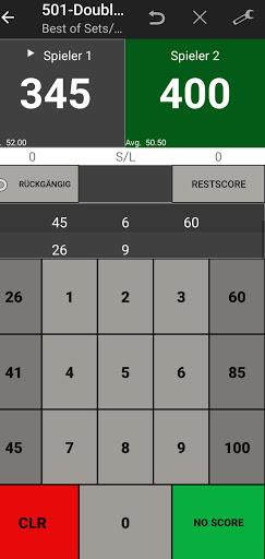 Darts Scoreboard: My Dart Training apktram screenshots 2