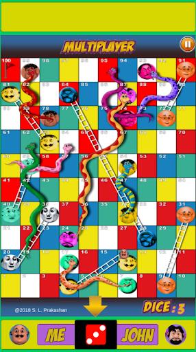 Motu Patlu Snakes & Ladder Game  screenshots 5