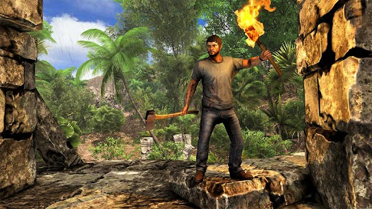 Survival Games Offline free: Island Survival Games 3