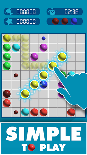 Line 98: Color lines, Connecting 5 Game apk 1.0.1 screenshots 2