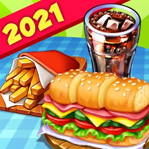Hells Cooking crazy burger kitchen fever tycoon 1.43 by Food games for free logo