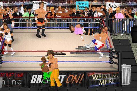 Wrestling Revolution screenshots 1