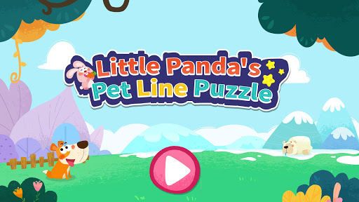 Little Panda's Pet Line Puzzle  screenshots 12