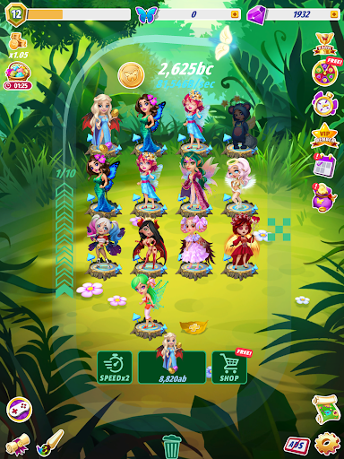Merge Fairies - Best Idle Clickerud83euddda android2mod screenshots 9