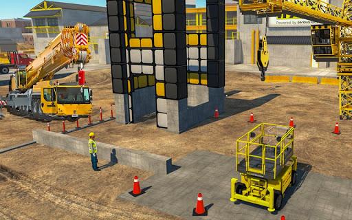 Heavy Crane Simulator Game 2019 u2013 CONSTRUCTIONu00a0SIM 1.2.9 screenshots 1