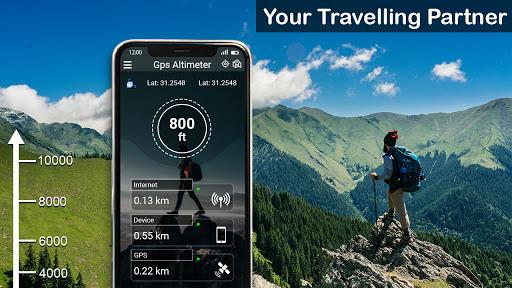 GPS Altimeter: Altitude Meter Free  screenshots 2