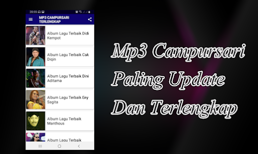 Campursari Mp3 Terlengkap 1.3 (MOD + APK) Download 3