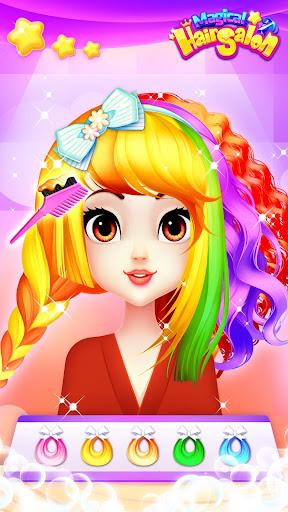 Magical Hair Salon: Girl Makeover 1.1.7 Screenshots 5